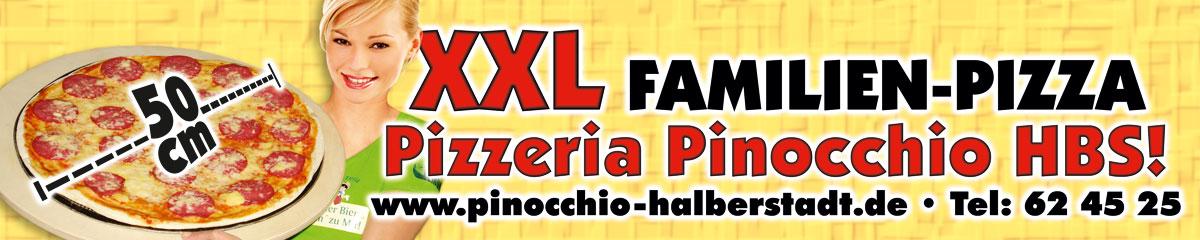 Unsere 50 cm XXL-Familienpizza